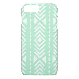 Cool Mint Green Tribal Pattern iPhone 7 Plus Case