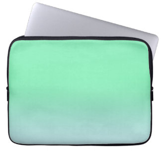 Cool Mint Ombre Laptop Sleeve