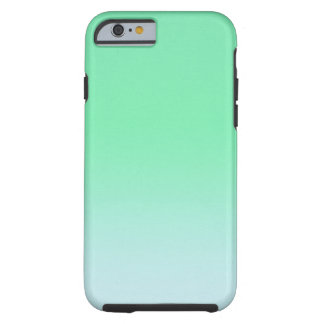 Cool Mint Ombre Tough iPhone 6 Case