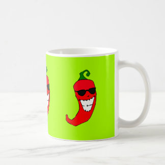 Cool Mister Red Hot Pepper Coffee Mug