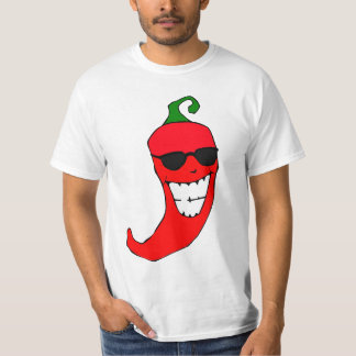 Cool Mister Red Hot Pepper Tshirts