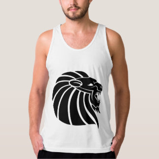 Cool MMA Lion tribal style tatto Tank Top
