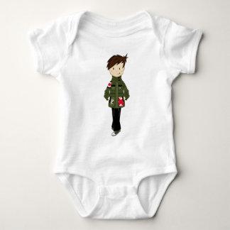 Cool Mod Boy Baby Bodysuit
