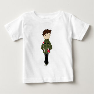 Cool Mod Boy Baby T-Shirt