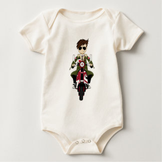 Cool Mod on Scooter Baby Bodysuit