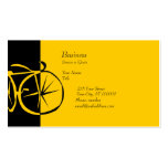 Cool Modern Bike  Contemporary Artsy Bike Woodcut Pack Of Standard Business Cards