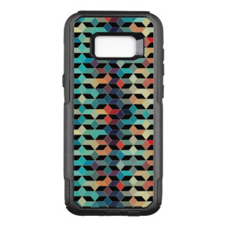 Cool Modern Colorful Cubes Pattern OtterBox Commuter Samsung Galaxy S8+ Case