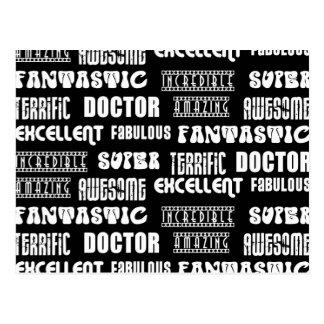 Cool Modern Design for Doctors : Positive Words Postcard