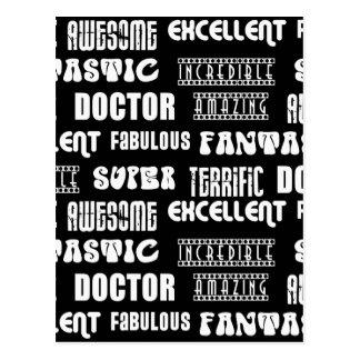 Cool Modern Design for Doctors : Positive Words Postcards
