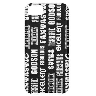 Cool Modern Design for Godsons Positive Words Case For iPhone 5C