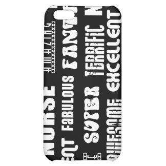 Cool Modern Design for Nurses Positive Words Case For iPhone 5C