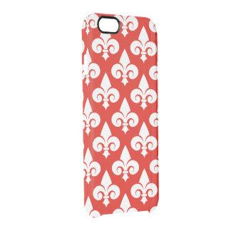 Cool Modern Expression Fleur de lys Pattern iPhone 6 Plus Case