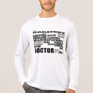 Cool Modern Fun Doctors Greatest Doctor World Ever T-Shirt