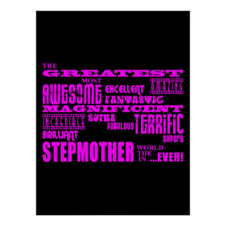 Cool Modern Fun Stepmothers : Greatest Stepmother Poster