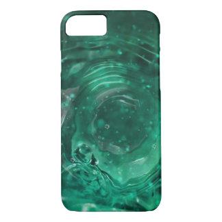 Cool Modern Green Macro Water Ripple iPhone 7 Case