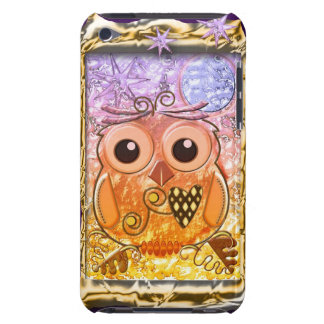 Cool modern Owl design Barely There iPod Cover