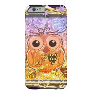 Cool modern Owl design Barely There iPhone 6 Case