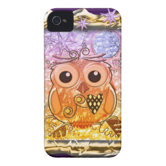 Cool modern Owl design iPhone 4 Covers