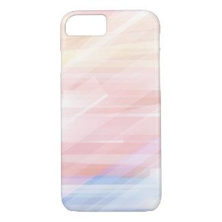Cool Modern Pastel Stripes iPhone 8/7 Case