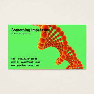 Cool Modern Science Business Cards