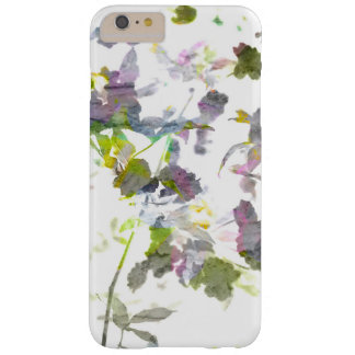 Cool modern unique Abstract Romantic flowers art Barely There iPhone 6 Plus Case