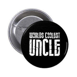 Cool Modern Urban Uncles : Worlds Coolest Uncle 6 Cm Round Badge