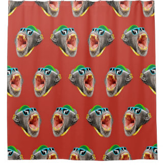 Cool Monkey Shower Curtain