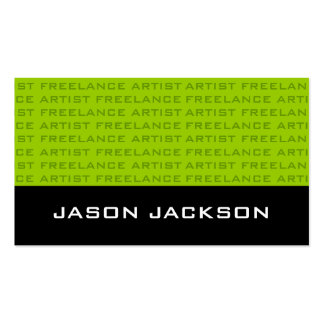 Cool Monogram Business Cards