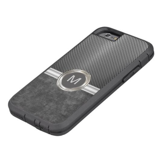 Cool Monogram Rugged Look Tough Xtreme iPhone 6