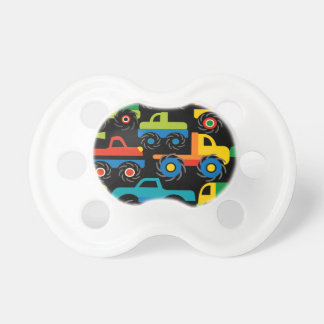 Cool Monsters Trucks Transportation Gifts for Boys Baby Pacifiers