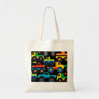 Cool Monsters Trucks Transportation Gifts for Boys Tote Bag