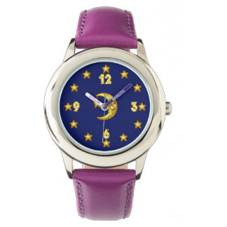 Cool Moon and Stars Watch