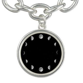 Cool Moon Phases Charm Bracelet