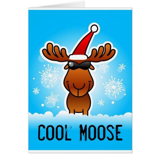 Cool Moose Greeting Card