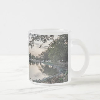 Cool Morning Frosted Glass Mug