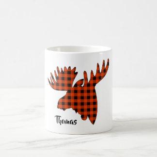 Cool Morphing Moose head Magic Mug