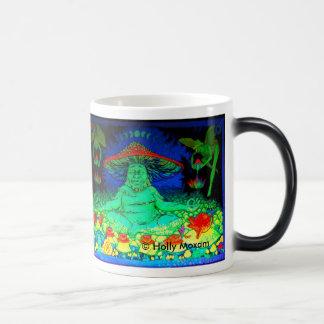 Cool Morphing Mushroom Tea Mug