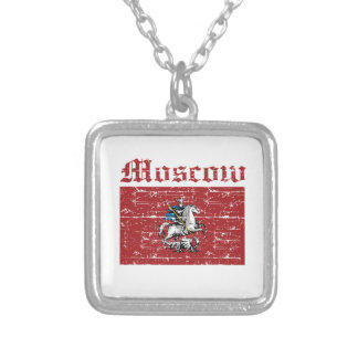 Cool moscow city flag designs necklaces