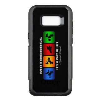 Cool Motocross It Is A Way Of Life OtterBox Commuter Samsung Galaxy S8+ Case