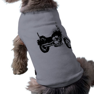 Cool motorcycle bike silhouette shirt