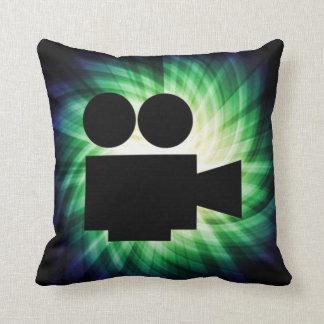 Cool Movie Camera; Video Film Cushion