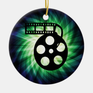 Cool Movie Film Reel Christmas Ornament