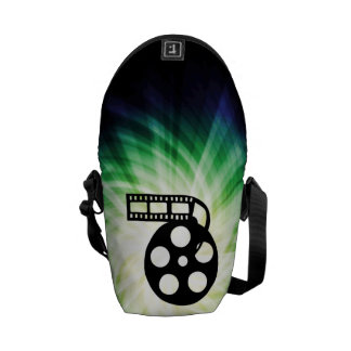 Cool Movie Film Reel Courier Bags