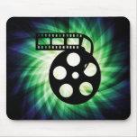 Cool Movie Film Reel Mousepads