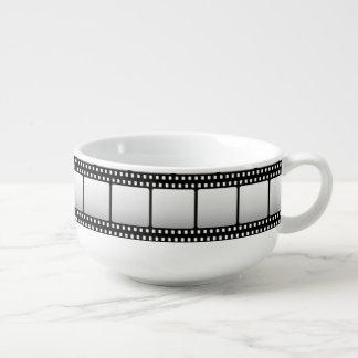 Cool Movie night serving bowl film pattern