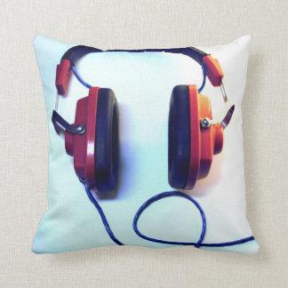 Cool Mr. Dj Headphones Throw Pillow
