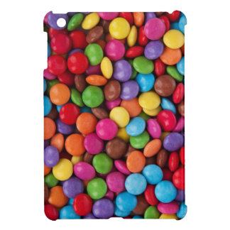 cool multi coloured chocolate buttons iPad mini cover