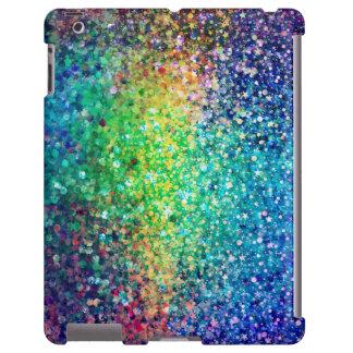 Cool Multicolor Glitter & Sparkles iPad Case