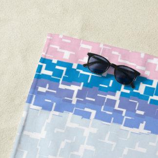 COOL Multicolor Green/Gray/Beige/Pink/Purple/Blue Beach Towel