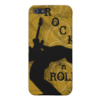 Cool Music Guitar Rock Grunge iPhone Cover gold iPhone 5 Case